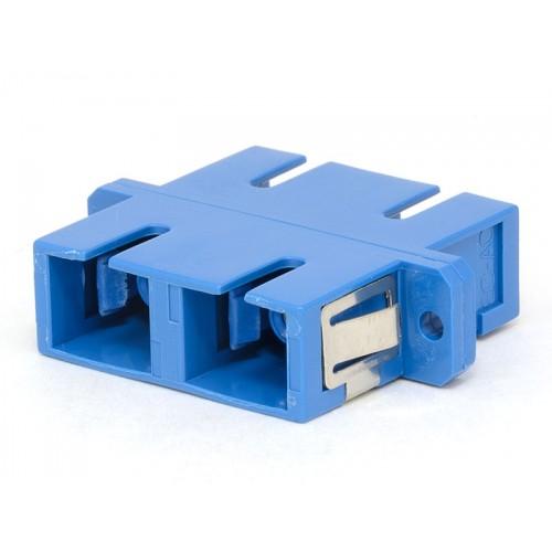 SC Duplex  plastic Fiber Optic Adapter