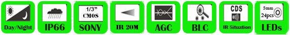 IP Camera WDS-2013EI/ WDS-2020EI