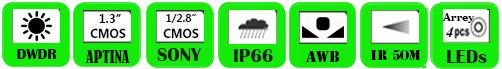 Wireless IP Camera WPP-1364FP/ WPP-2064FP