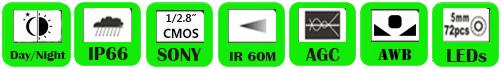 IP Camera WMV-4613FB/ WMV-4620FB