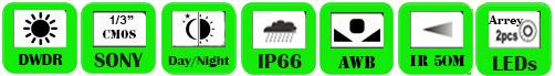 Wireless IP Camera WBA-W241-3F
