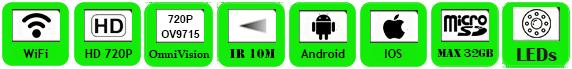 Wireless IP Camera WTS-IP118W