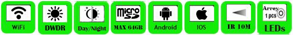 Wireless IP Camera WTS-IP114W