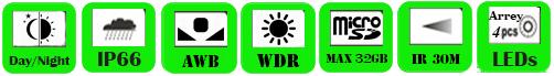IP Camera WAB-2050WF