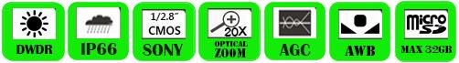 IP PTZ Camera WND-4020R/ WND-4020RN