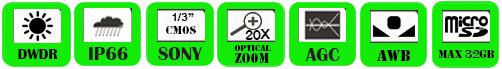 IP PTZ Camera WND-4013R/ WND-4013RN