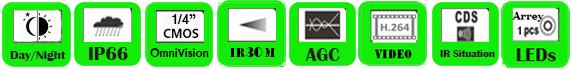 AHD Camera WCD-1030DR/ WCD-1330DR