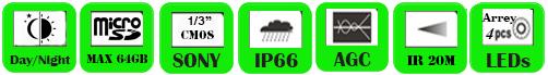 IP Camera WAD-1020WF/ WAD-1030WF
