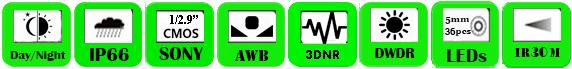 Multi Camera ACTC-2036CK