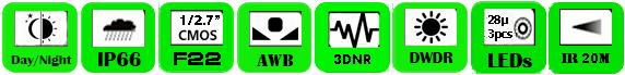 IP Camera WCH-2036EI (P)