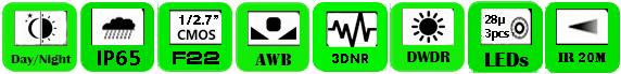 IP Camera WPK-2036EI (P)